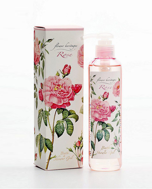 250ml Rose Bath & Shower Gel | Melani di moda