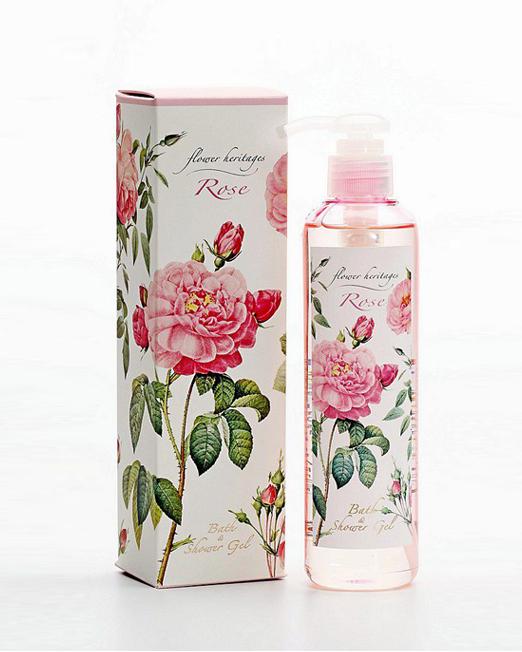 250ml Rose Bath & Shower Gel | Melani di moda