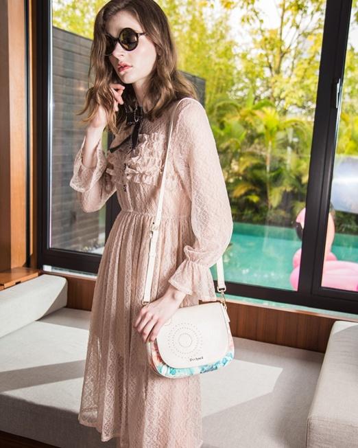 Passion 1 Lace Shirt Dress   Melani di moda