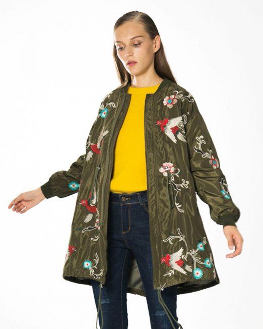 Mil Green Jacket 522x652 Womens Clothing & Fashion