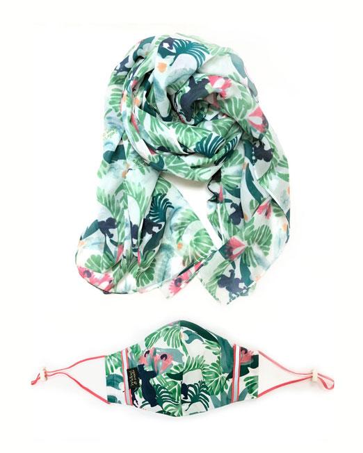 tropical set Womens Clothing & Fashion