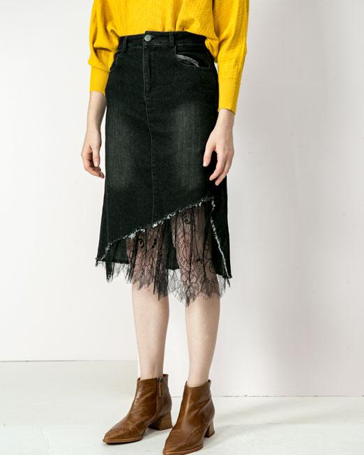 denim skirt 2 Womens Clothing & Fashion