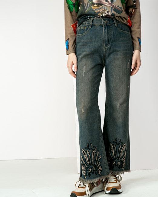 wide leg pants Womens Clothing & Fashion