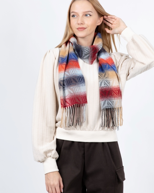 0102 EI 6871 scarf Womens Clothing & Fashion