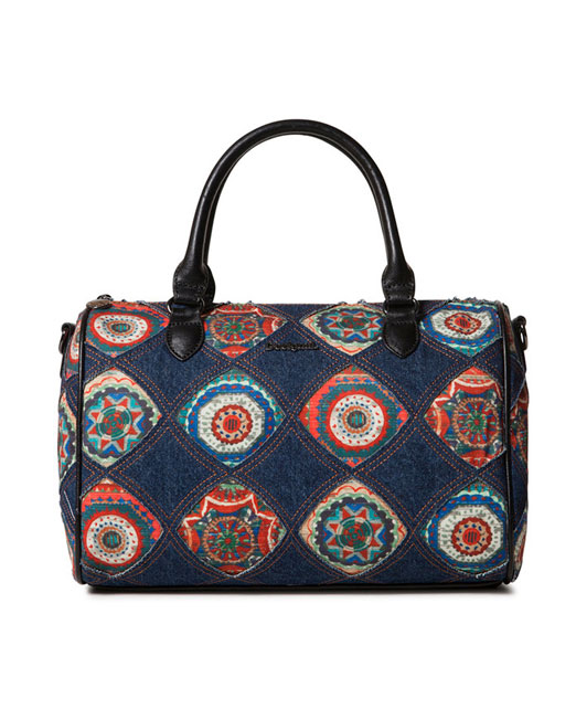 DESIGUAL DENIM HANDBAG3 Womens Clothing & Fashion