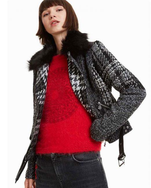 DESIGUAL JACKET 522x652 Womens Clothing & Fashion