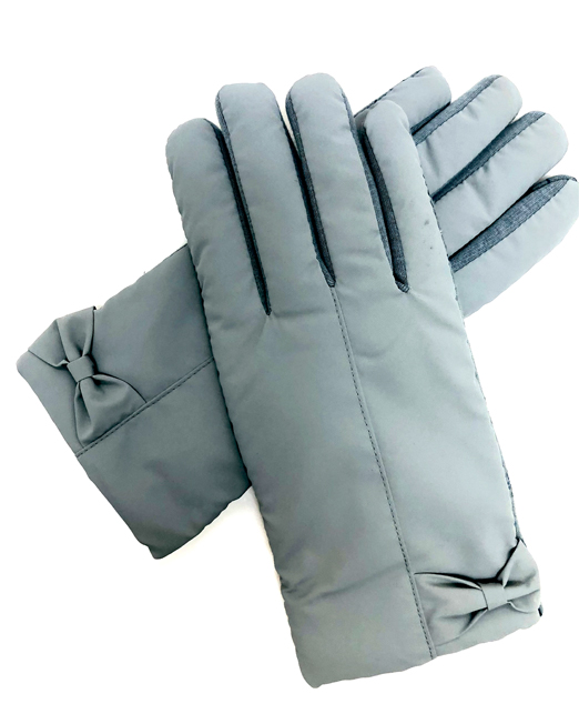 MELANI TOUCH SCREEN GLOVES WITH BOW DETAIL 4 Womens Clothing & Fashion