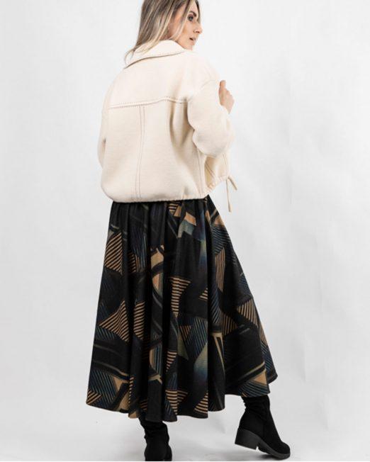 PASSION 1 DRAWSTRING HEM KNIT JACKET5 522x652 Womens Clothing & Fashion