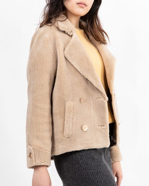MELANI DOUBLE BREASTED BROG JACKET4 522x652 Womens Clothing & Fashion