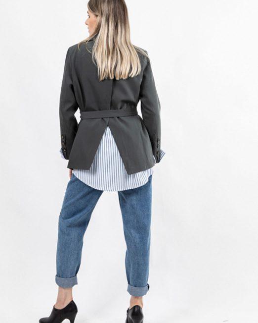 MELANI STRIPE LINING BLAZER 3 522x652 Womens Clothing & Fashion