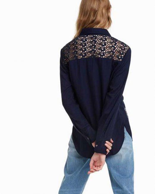 DESIGUAL COLOURFUL EMBORIDERED SHIRT5 522x652 Womens Clothing & Fashion