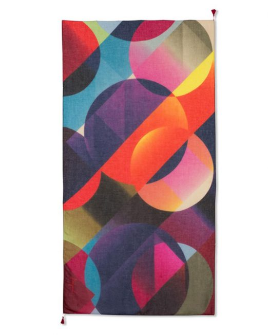 DESIGUAL MULTI COLOR MERCURY PRINT SCARF2 522x652 Womens Clothing & Fashion