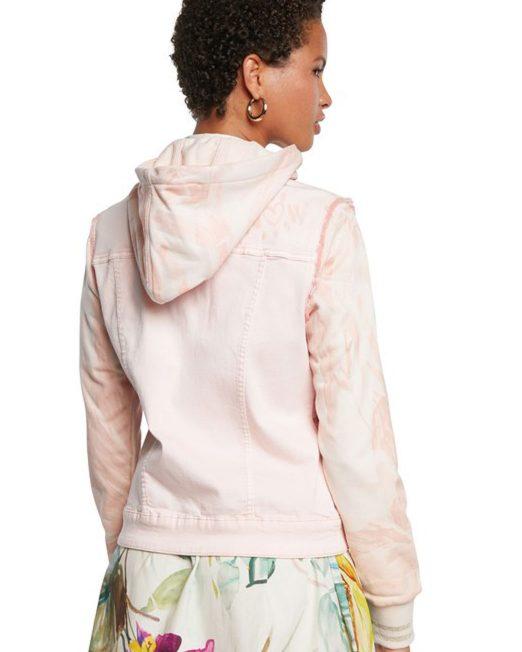 DESIGUAL PINK DENIM JACKET WITH HOOD4 522x652 Womens Clothing & Fashion