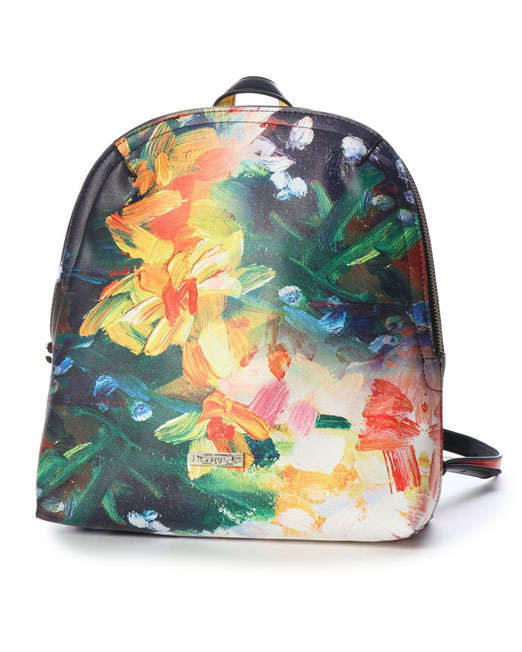 DESIGUAL REVERSIBLE BACKPACK Womens Clothing & Fashion