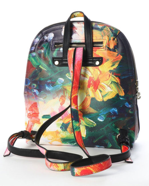 DESIGUAL REVERSIBLE BACKPACK2 Womens Clothing & Fashion