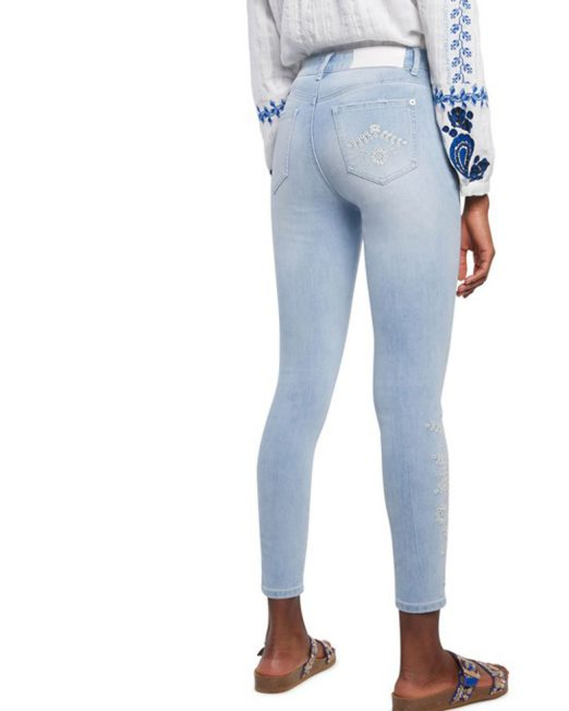 DESIGUAL SKINNY CROPPED JEANS5 522x652 Womens Clothing & Fashion