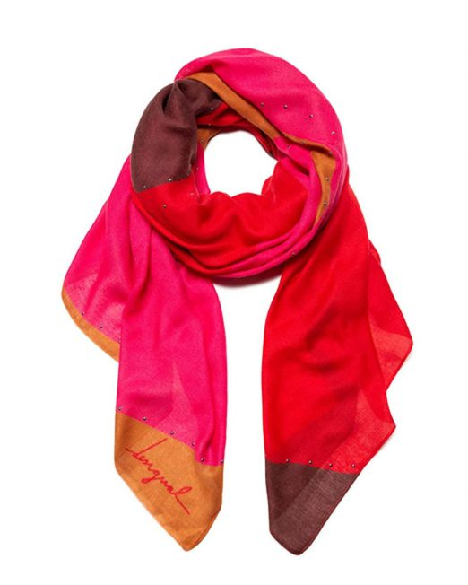 DESIGUAL VIVID COLOUR SCARF 522x652 Womens Clothing & Fashion