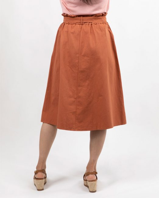 MELANI BUTTON FRONT SKIRT2 522x652 Womens Clothing & Fashion