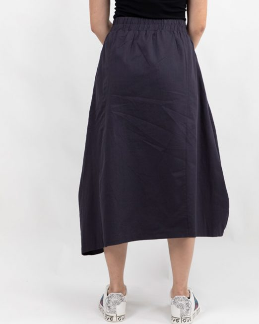 MELANI DI MODA ASYMMETRIC MIDI SKIRT5 522x652 Womens Clothing & Fashion