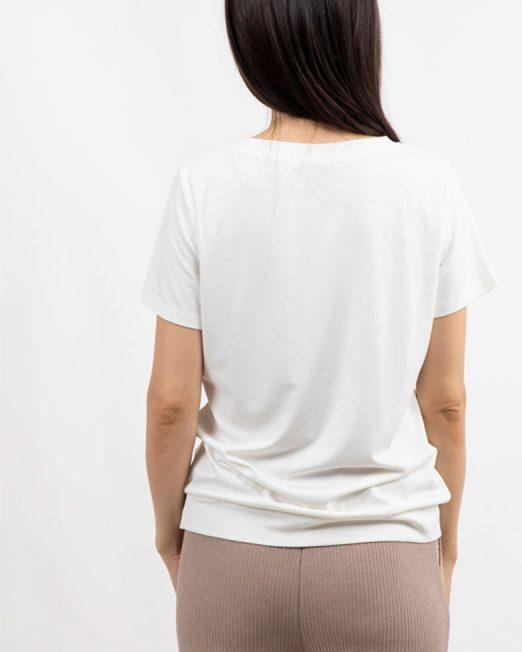 MELANI DI MODA EMBROIDERED TEE 522x652 Womens Clothing & Fashion
