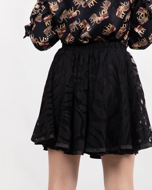 MELANI LACE MINI SKIRT Womens Clothing & Fashion