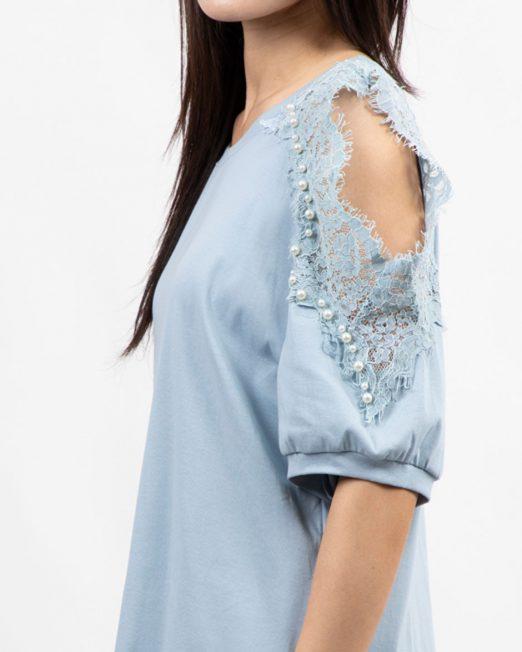 MELANI LACE OFF SHOULDER TOP2 522x652 Womens Clothing & Fashion