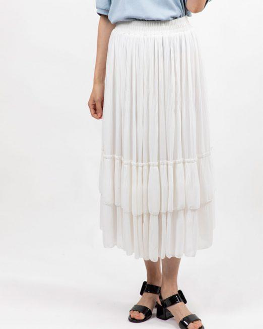 MELANI TIERED MIDI SKIRT 522x652 Womens Clothing & Fashion