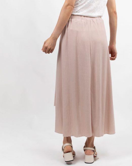 PASSION 1 BY MELANI ELASTICAED WAIST MIDI SKIRT IN PINK4 522x652 Womens Clothing & Fashion