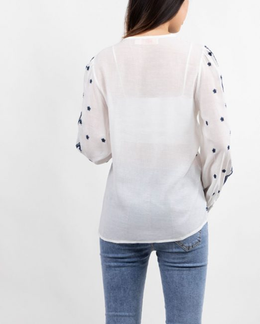 PASSION 1 BY MELANI EMBROIDERED LONG SLEEVES BLOUSE3 522x652 Womens Clothing & Fashion