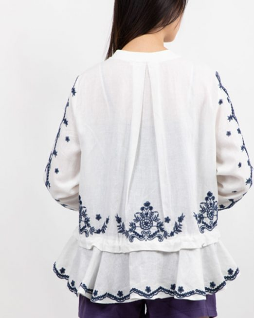 PASSION 1 BY MELANI EMBROIDERED ZIP UP JACKET4 522x652 Womens Clothing & Fashion