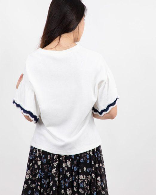 PASSION 1 BY MELANI FAUX PEARLS EMBELLISHMENT TOP 522x652 Womens Clothing & Fashion