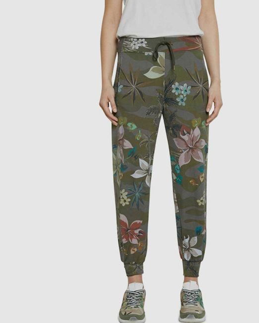 DESIGUAL CROPPED JERSEY PANTS2 522x652 Womens Clothing & Fashion