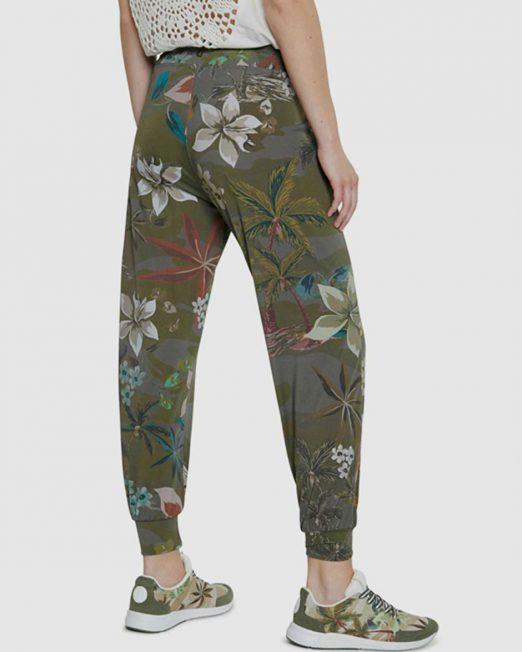 DESIGUAL CROPPED JERSEY PANTS3 522x652 Womens Clothing & Fashion