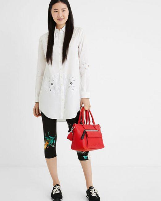 DESIGUAL EMBOSSED LOGO SHOULDER BAG2 1 522x652 Womens Clothing & Fashion