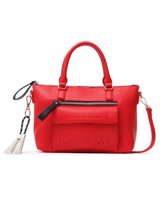 DESIGUAL EMBOSSED LOGO SHOULDER BAG7 1 522x652 Womens Clothing & Fashion