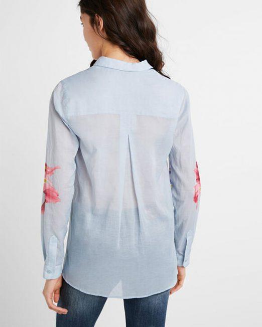 DESIGUAL ETHNIC BRUSHSTROKES SHIRT4 522x652 Womens Clothing & Fashion