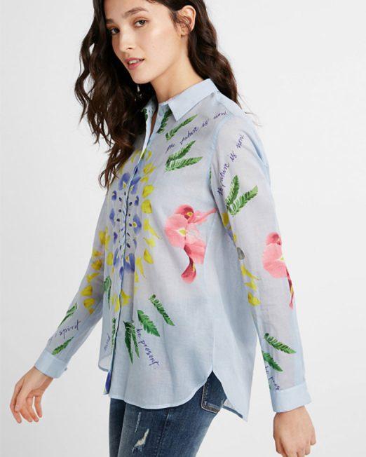 DESIGUAL ETHNIC BRUSHSTROKES SHIRT5 522x652 Womens Clothing & Fashion