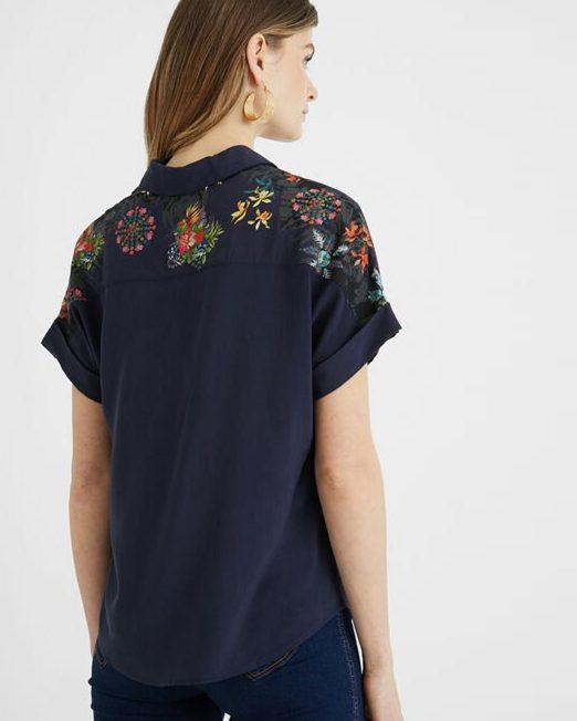 DESIGUAL FLORAL PRINT SHIRT4 1 522x652 Womens Clothing & Fashion