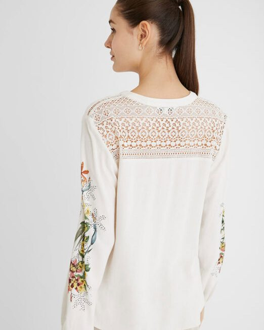 DESIGUAL FLORAL PRINT SHIRT9 522x652 Womens Clothing & Fashion