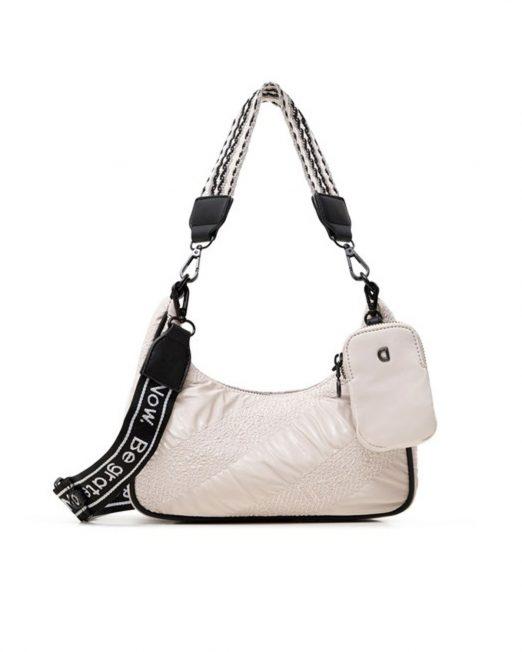 DESIGUAL HALF MOON SHOULDER BAG 522x652 Womens Clothing & Fashion