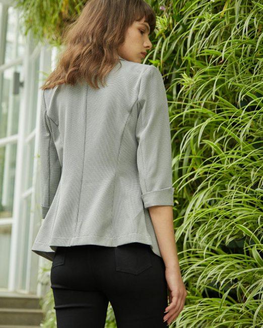 MELANI HOUNDSTOOTH BLAZER3 522x652 Womens Clothing & Fashion