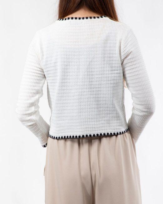 MELANI CONTRAST STITCHING CARDIGAN5 522x652 Womens Clothing & Fashion