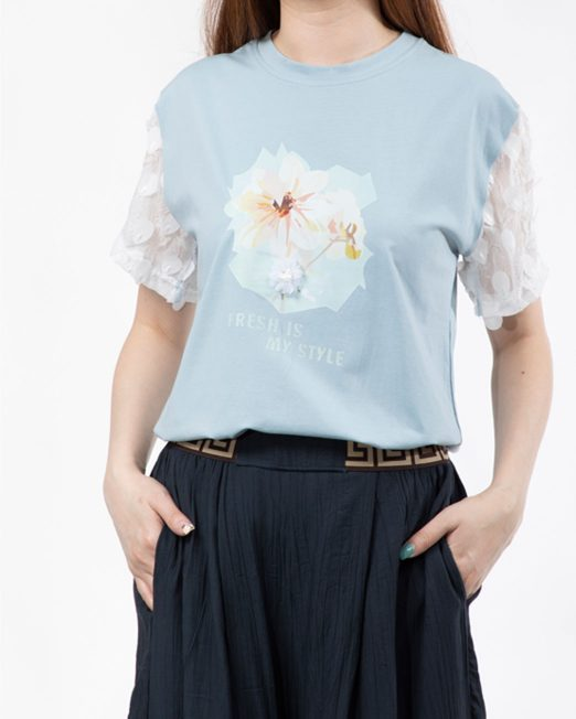MELANI FLORAL PRINT TOP4 522x652 Womens Clothing & Fashion