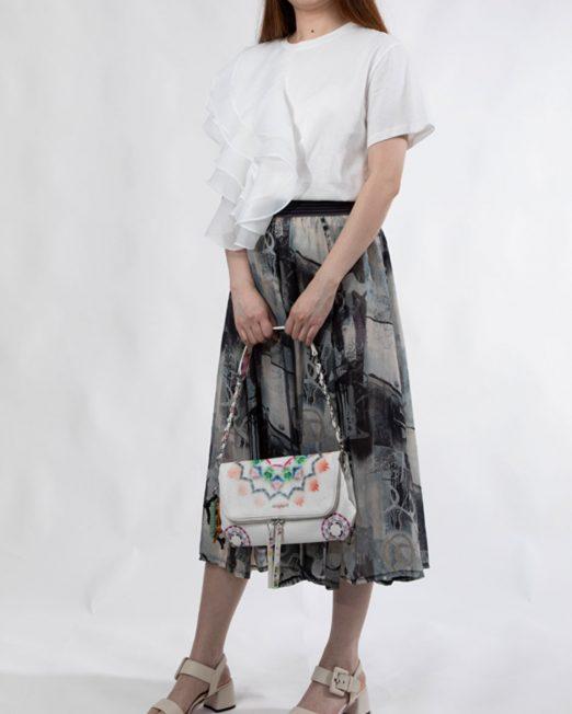 MELANI PRINTED MIDI SKIRT2 522x652 Womens Clothing & Fashion