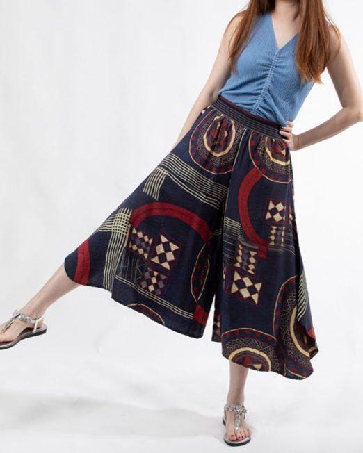MELANI PRINTED WIDE LEG PANTS2 522x652 Womens Clothing & Fashion