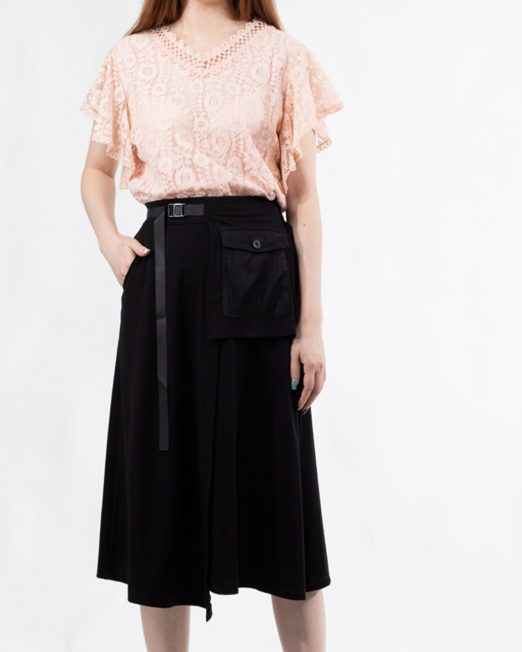 MELANI V NECK LACE TOP2 522x652 Womens Clothing & Fashion