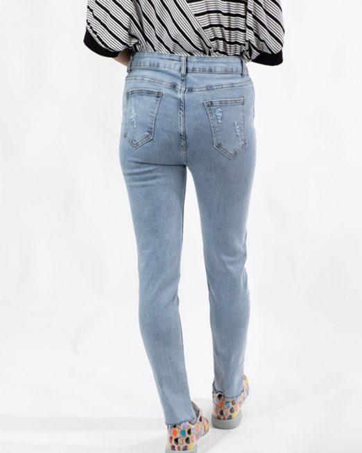 MLN Smiley face rhinestone embellishment jeans3 522x652 Womens Clothing & Fashion