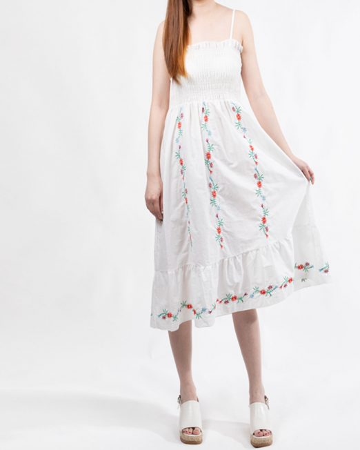 PASSION 1 BY MELANI EMBROIDERED SMOCK DRESS 522x652 Womens Clothing & Fashion