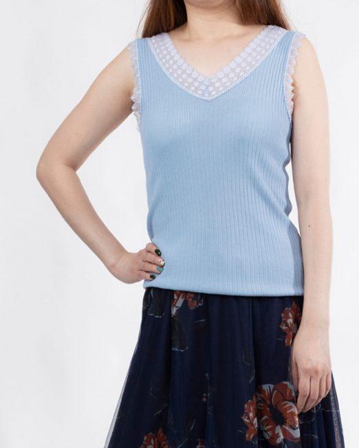 PASSION 1 BY MELANI LACE TRIMS KNIT VEST 522x652 Womens Clothing & Fashion