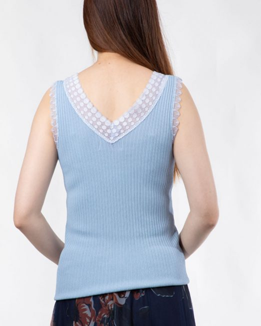 PASSION 1 BY MELANI LACE TRIMS KNIT VEST3 522x652 Womens Clothing & Fashion
